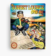 SSL Paddys Day - The Sunset Lounge Canvas Print