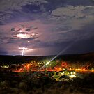 Red Centre Storm by James mcinnes