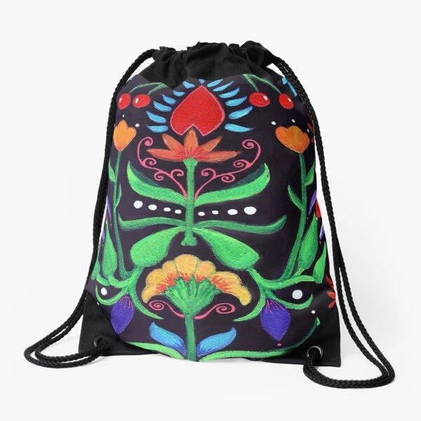 Acquarelli Fiori 3 Drawstring Bag