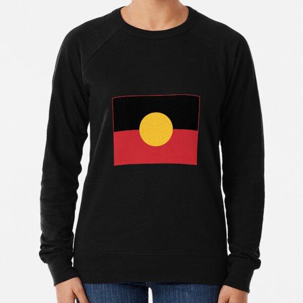 Australian Aboriginal Flag #9 Lightweight Sweatshirt