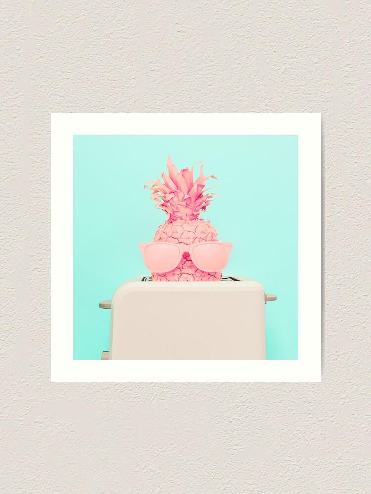 Alternate view of Pineapple toaster Art Print