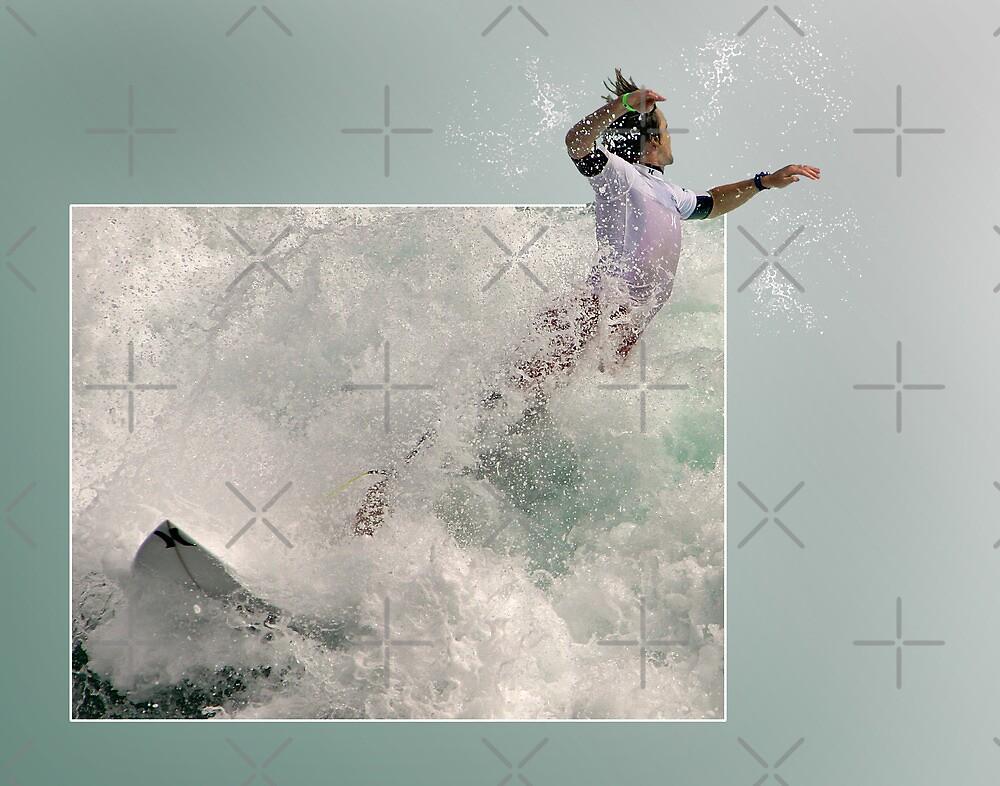 Surfer Leap by CarolM