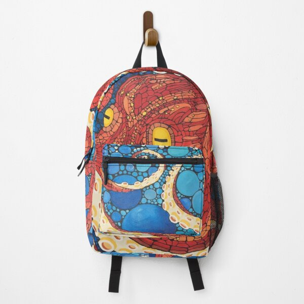 Big Red Squid Backpack