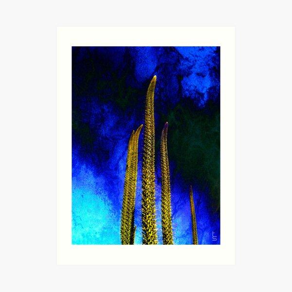 Alien Cacti Art Print