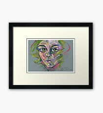 'Green' Framed Print