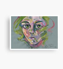 'Green' Canvas Print