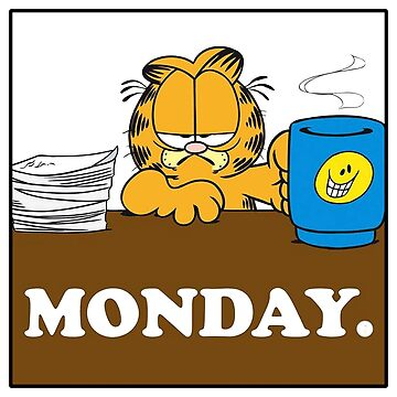 Garfield I Hate Monday by BoldManners