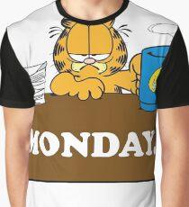 Garfield I Hate Monday Graphic T-Shirt