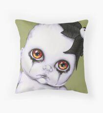Baby WOOGIE artist Sylvia Lizarraga  Throw Pillow