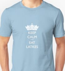 Keep Calm and Eat Latkes Hanukah Shirt Unisex T-Shirt