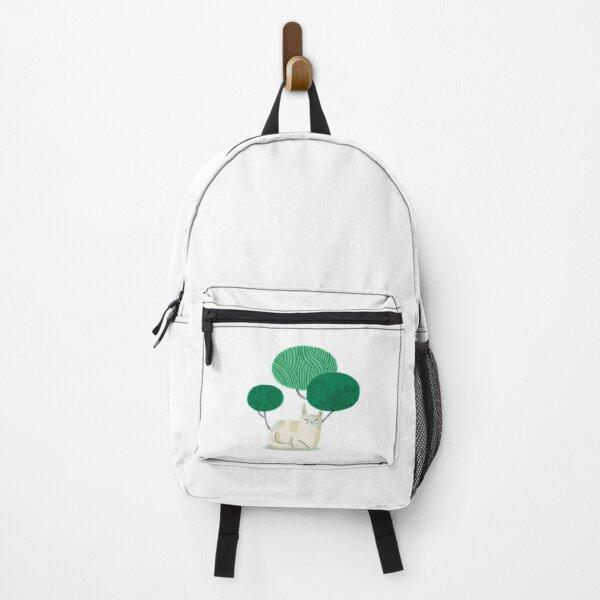 Cat nap I (white) Backpack
