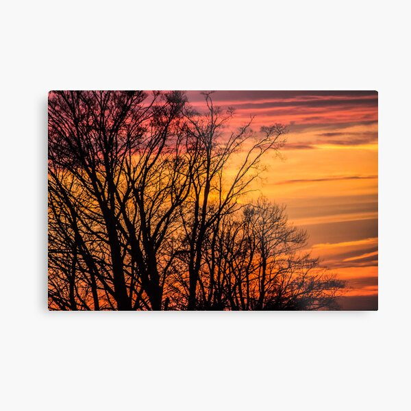 REDREAMING FIRE IN THE SKY Metal Print