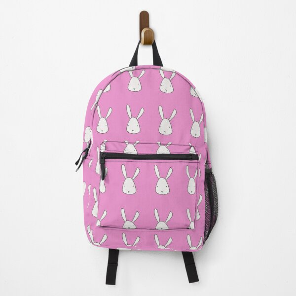Bunny Face Hand Drawn Animal Art Doodle Backpack