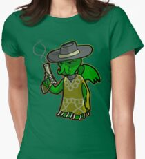 The Evil with No Name Womens Fitted T-Shirt