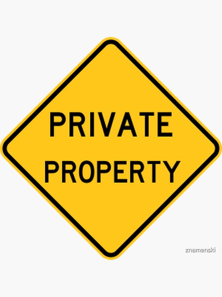 Private Property by znamenski