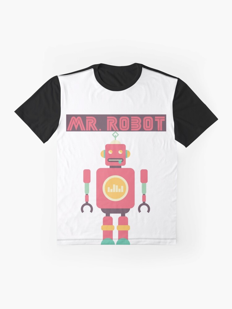 Alternate view of Mr Robot Graphic T-Shirt