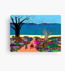 Gnomonic Landscape Canvas Print