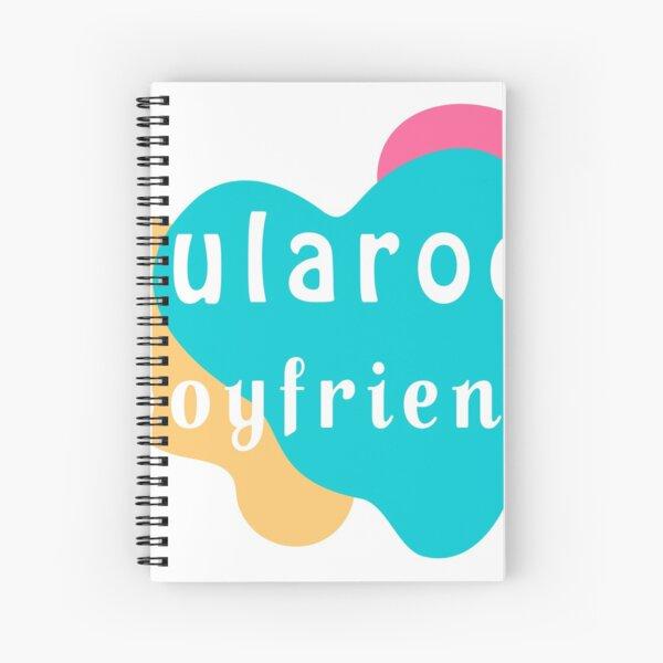 lularoe boyfriend t-shirt Spiral Notebook