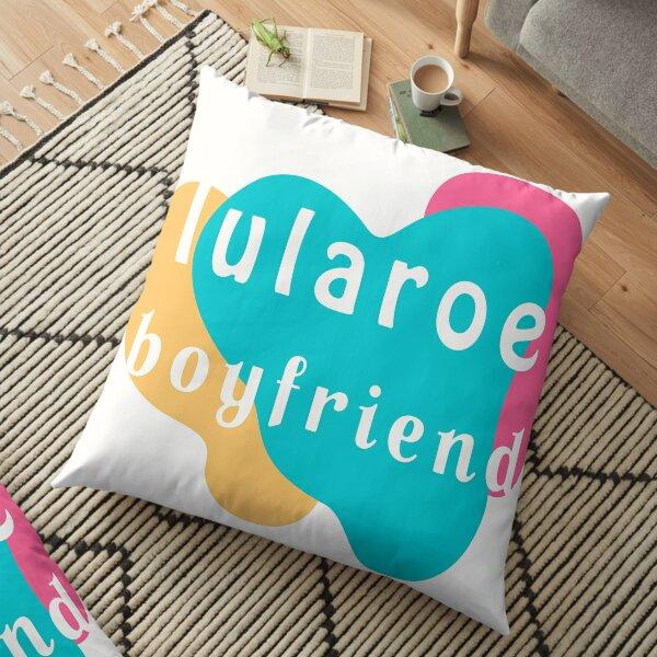 lularoe boyfriend t-shirt Floor Pillow