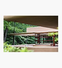 Falling Water, Kaufman House, Frank Lloyd Wright Photographic Print