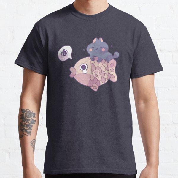 Cat and Taiyaki Classic T-Shirt