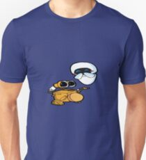 Wall-e sings a two step Unisex T-Shirt