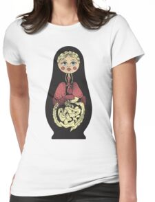 Russian doll Womens Fitted T-Shirt