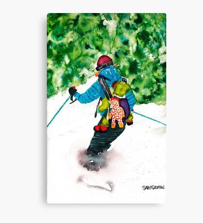 I Love This Ride Canvas Print