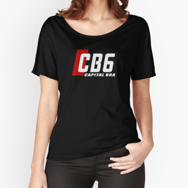 CB6 Capital Bra funny Tee Relaxed Fit T-Shirt