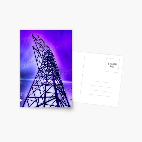 Pylon In Purple  Postcard