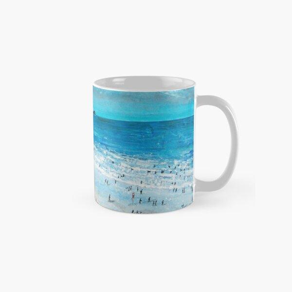 Fistral Beach, Newquay Cornwall Art Classic Mug