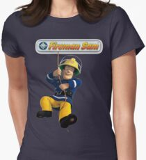 Fireman Sam Womens Fitted T-Shirt
