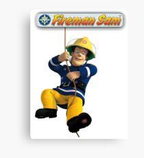Fireman Sam Canvas Print