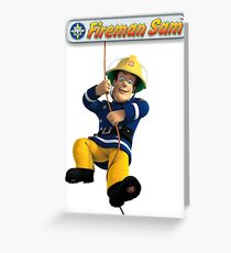 Fireman Sam Greeting Card