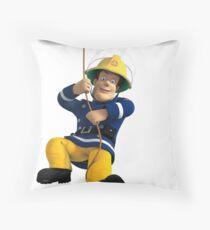 Fireman Sam Throw Pillow