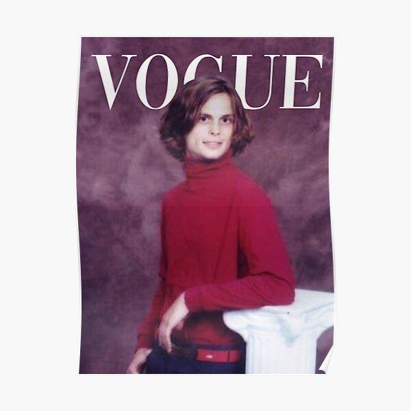 VOGUE: matthew gray gubler - iconic photo Poster