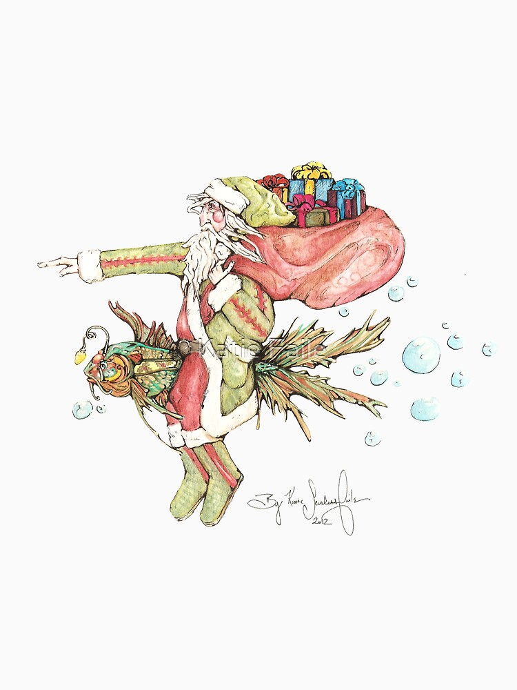 Santa And The Christmas Fish by KATIESFAILE