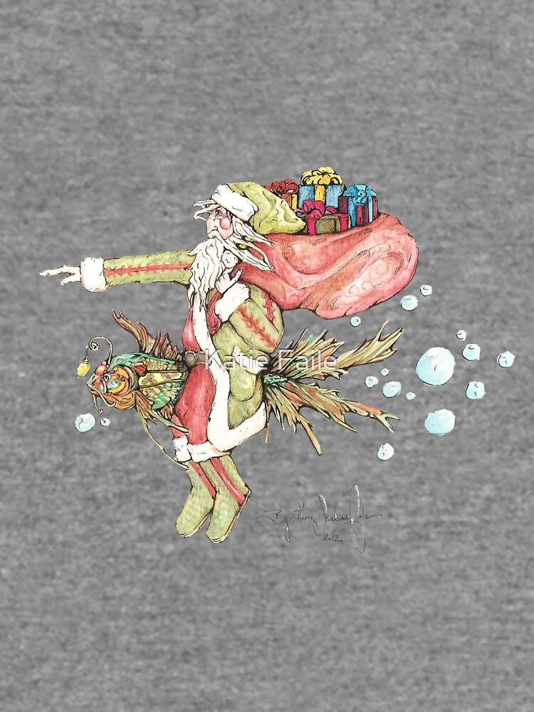 Santa And The Christmas Fish by KATIESFAILE