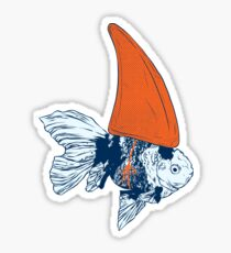 Big fish in a small pond Sticker