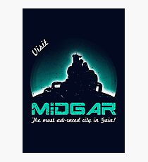Visit Midgar Photographic Print