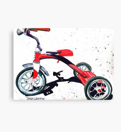 Radio Flyer Tricycle Canvas Print