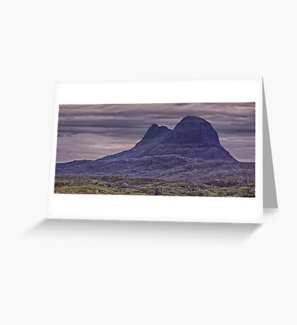 Suilven Panorama Greeting Card