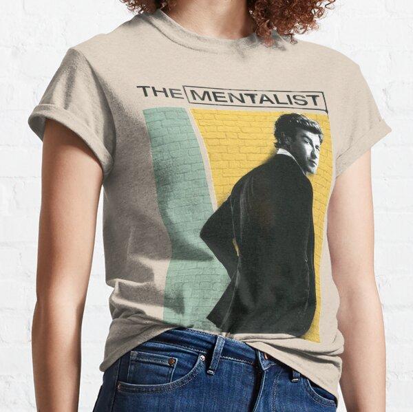 Patrick Jane the Mentalist Brick Facade  Classic T-Shirt