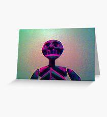 Skull Dude Greeting Card