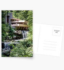Falling Water, Kaufman House, Frank Lloyd Wright Postcards