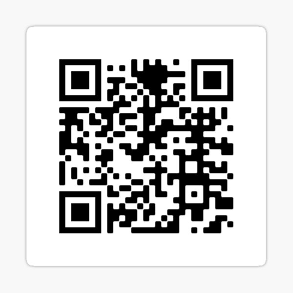 Kakyoins Death Scene QR Sticker