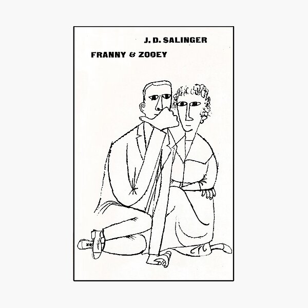 Franny And Zooey vintage book cover Photographic Print