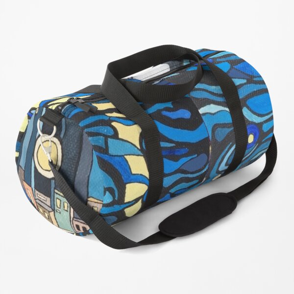 Night moon over the water  Duffle Bag