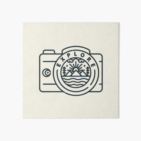 Explore - Ver. 2 Art Board Print