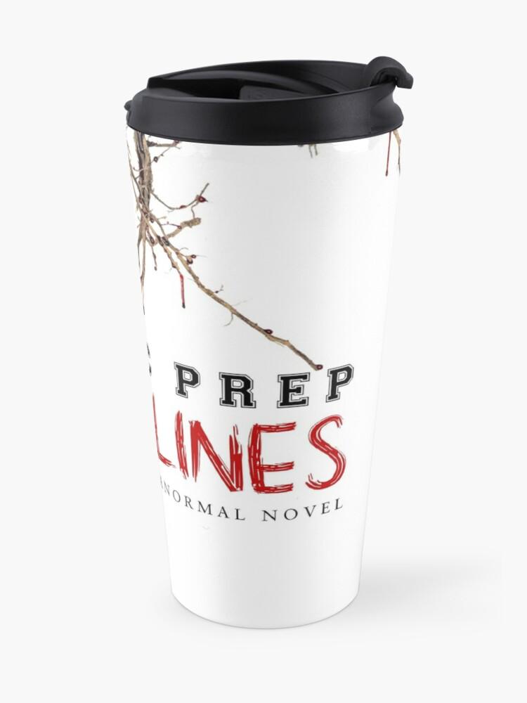 Alternate view of BLOODLINES Novel Cover Art Travel Mug